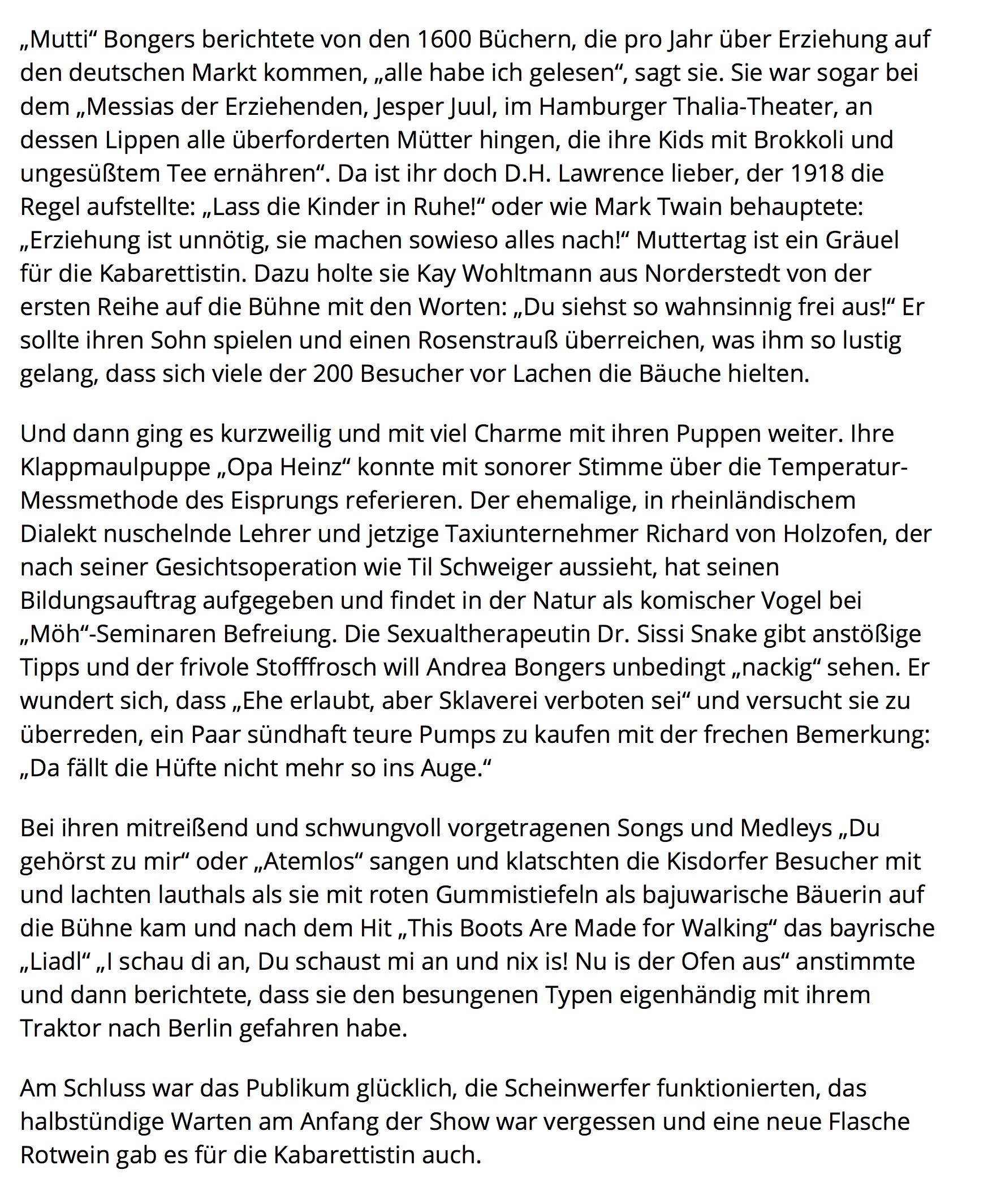 Segeberger Zeitung / Kieler Nachrichten vom 27.01.2020